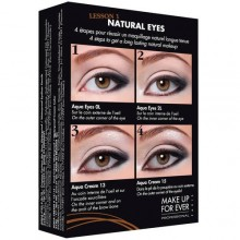 MAKE UP FOREVER Kit Tutoriel Leçon 1 Natural Eyes