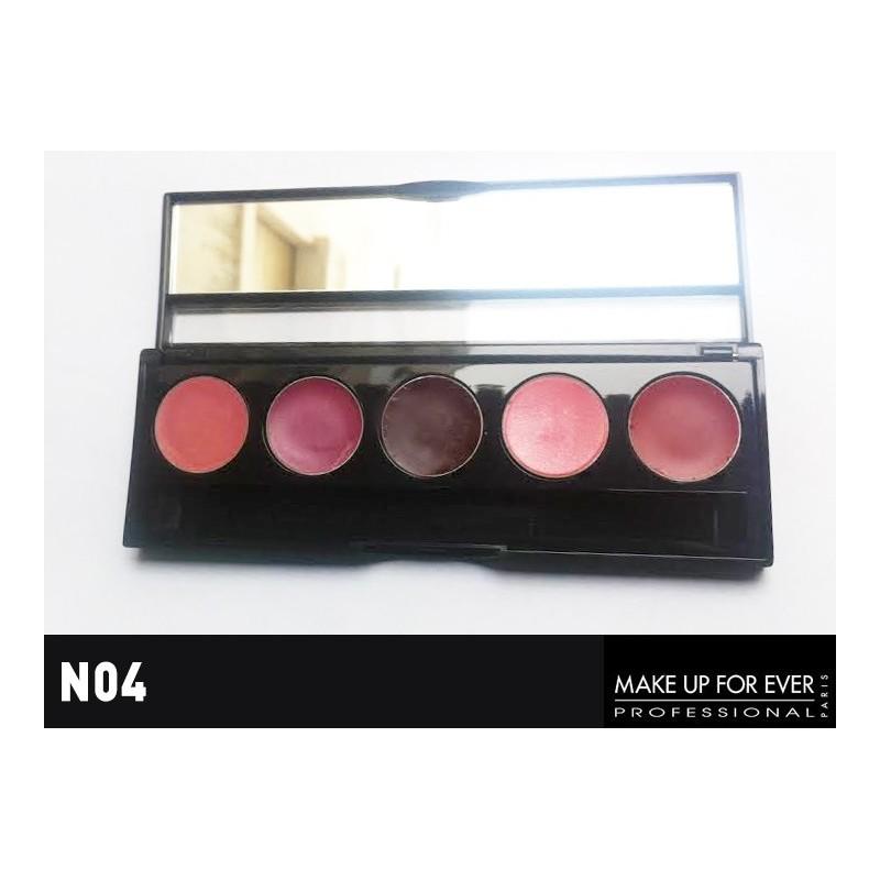 MAKE UP FOREVER Palette 5 Rouge à Lèvres Harmonie et Création
