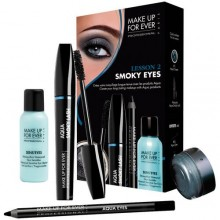 MAKE UP FOREVER SMOKY EYES KIT Lesson 2