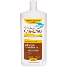 ROGE CAVAILLES Gel Bain et Douche Surgras Fleur de  Coton 750 ml