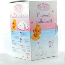Prince & princesse lili 30 coussinets d'allaitement