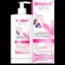 EVELINE DERMAPHARM Lactamed gel pour filles 250ml