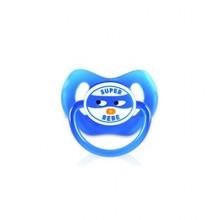 DODIE SUCETTE +6 Mois « Super Bébé Garçon » Physiologique Silicone Avec Anneau N°35