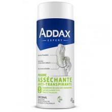 ADDAX ZIRCONAL Poudre asséchante anti-transpirante pieds