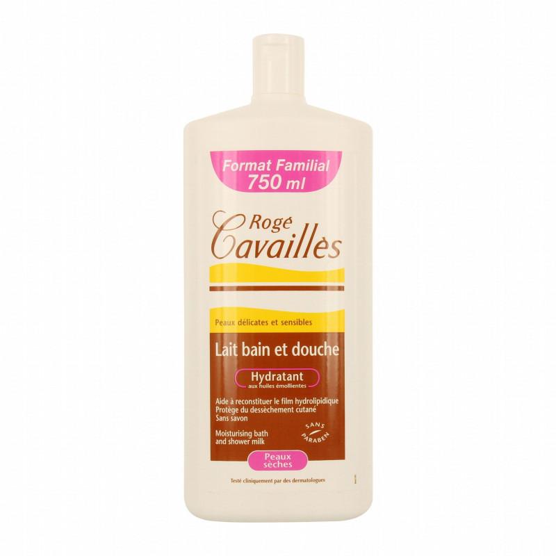 ROGE CAVAILLES LAIT BAIN DOUCHE Hydratant 750 ML