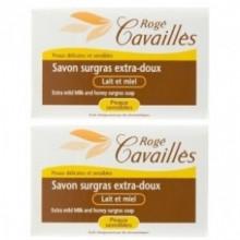 ROGE CAVAILLES SAVON PARFUME Lait Et Miel 250 g x 2