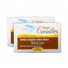 ROGE CAVAILLES SAVON PARFUME Fleur De Coton 250 g Lot De 250 X 2