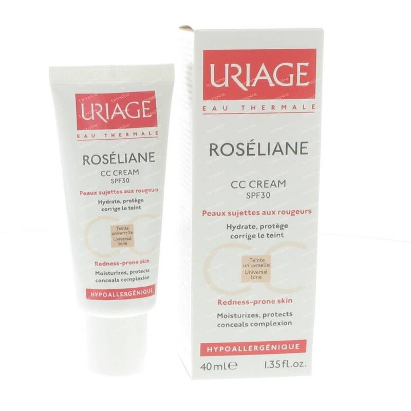 URIAGE ROSELIANE CC CREAM SPF 30 40 ML