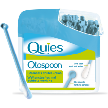 QUIES Otospoon bâtonnets ouatés double action