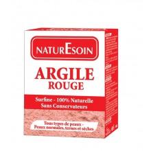NATURE SOIN ARGILE ROUGE 100g