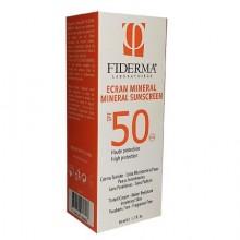 FIDERMA ECRAN MINERAL SPF 50 TEINTE