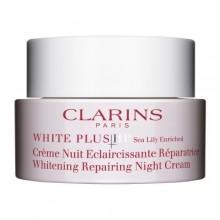 CLARINS WHITE PLUS Total Luminescent Crème Nuit Eclaircissante Réparatrice