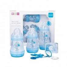 MAM Set Nouveau-né bleu sans BPA