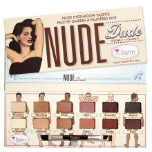 THE BALM NUDE Eyeshadow Palette