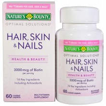 NATURE'S BOUNTY Hair skin & nails