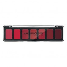 MAKE UP FOREVER PALETTE 7 ROUGES À LÈVRES H3 RED