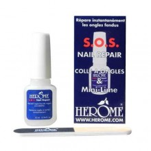 HEROME COLLE À ONGLES ET MINI LIME