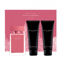 NARCISO RODRIGUEZ FLEUR DE MUSC For Her COFFRET