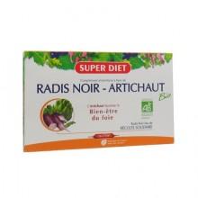 SUPERDIET Radis Noir Bio Ampoules