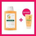 OFFRE KLORANE BEURRE DE MANGUE Shampoing 200 ML avec Baume après shampoing OFFERT