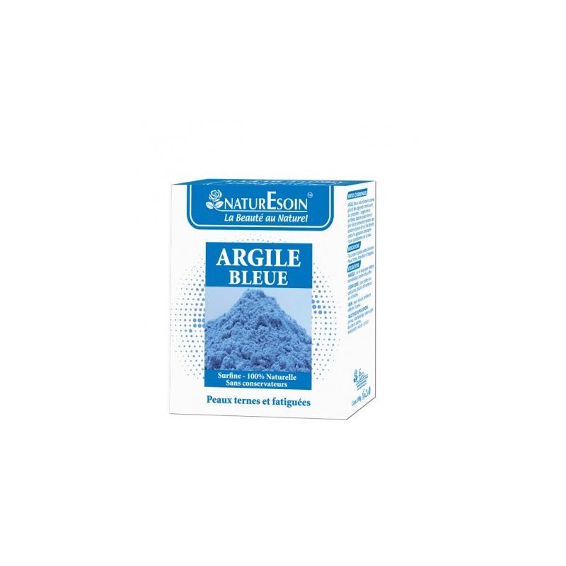 NATURE SOIN ARGILE BLEUE 100g