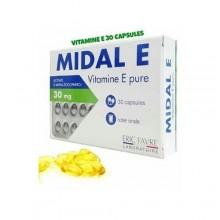 ERIC FAVRE MIDAL E vitamine E 30 Capsules