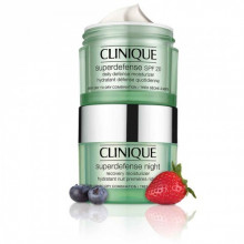 CLINIQUE SUPERDEFENSE DAY SPF20 AND NIGHT