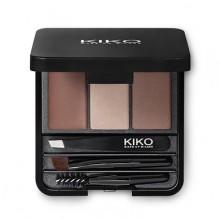 KIKO EYEBROW KIT Kit pour définir, remplir et modeler les sourcils