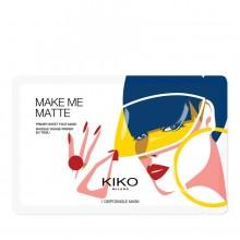 KIKO MAKE ME MATTE Masque Base Matifiante pour le visage en tissu