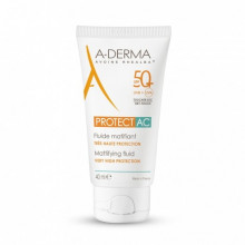 ADERMA PROTECT AC SPF 50 FLUIDE MATIFIANT