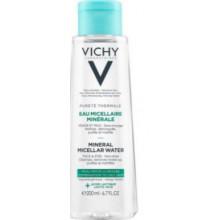 VICHY PURETE THERMALE EAU MICELLAIRE MINERALE PEAU MIXTE A GRASSE 200ML
