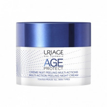 URIAGE AGE PROTECT CRÈME NUIT PEELING MULTI-ACTIONS 50ML