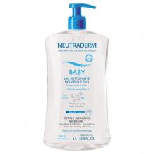 NEUTRADERM BABY EAU NETTOYANTE DOUCEUR 3 EN 1 1L