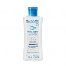 NEUTRADERM BABY EAU NETTOYANTE DOUCEUR 3 EN 1 200 ML
