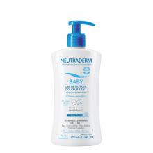 NEUTRADERM BABY GEL NETTOYANT DOUCEUR 3 EN 1 400 ML