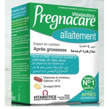 VITABIOTCS PREGNACARE allaitement 84 comprimés