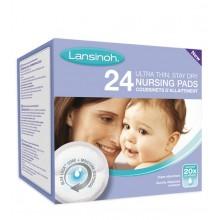 LANSINOH  Coussinets d'allaitement jetable Blue Lock  24 unités