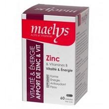 MAELYS Zinc et Vitamines B 60 Gélules