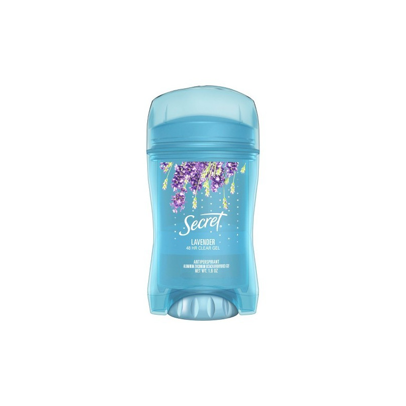 SECRET Fresh Deodorant Clear Lavande