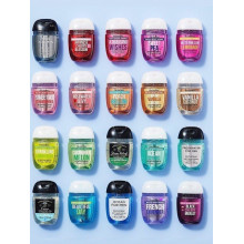 PACK BATH & BODY WORKS GEL ANTIBACTERIEN LOT DE 5