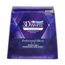 3D CREST WHITE Professional Effects bandes blanchissantes 40 Bandes