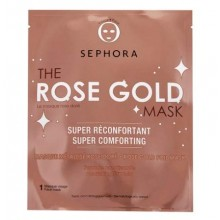 SEPHORA COLLECTION Le Masque Rose Doré Masque Métallisé Visage Super Réconfortant