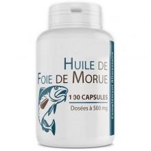 GPH DUFFISION Huile de foie de Morue 100 Capsules 400 mg