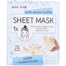 SHEET MASK With white truffle Masque visage