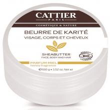 CATTIER BEURRE DE KARITÉ MIEL BIO - 100 G