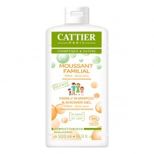 CATTIER Moussant familial sans sulfates 500ml