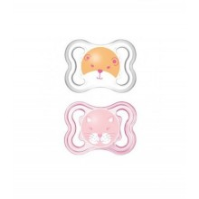 MAM AIR SUCETTE 0-6 MOIS SILICONE FILLE