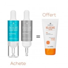 OFFRE ENDOCARE EXPERT DROPS HYDRATING PROTOCOL 2X10ML  avec HELIOCARE GEL ULTRA SPF 90 OFFERT
