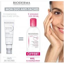 OFFRE BIODERMA Pigmentbio Daily Care Spf 50+ 40ml avec Sensibio H2O OFFERT