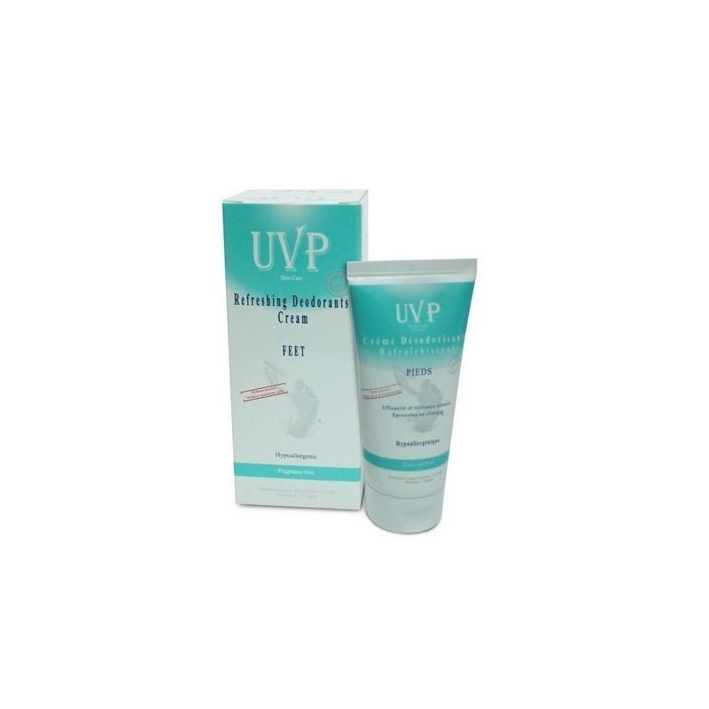 UVP Crème Désodorisante Rafraichissante Pieds